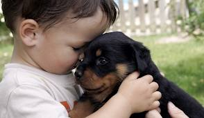 child with dog1