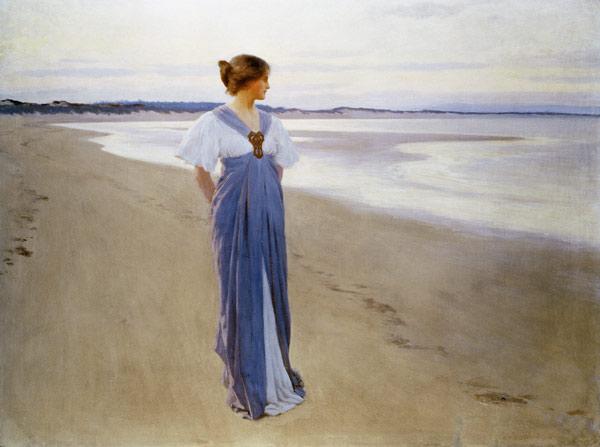 William_Henry_Margetson_The_Seashore_1900