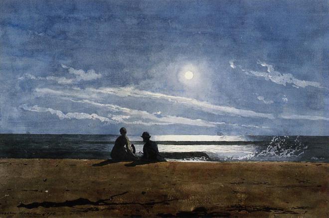 Winslow_Homer_-_Moonlight
